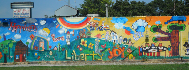 Testimonials neighborworks lincoln for Elementary school mural ideas